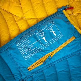 Ocun Tsunami Takki Naiset, yellow/blue